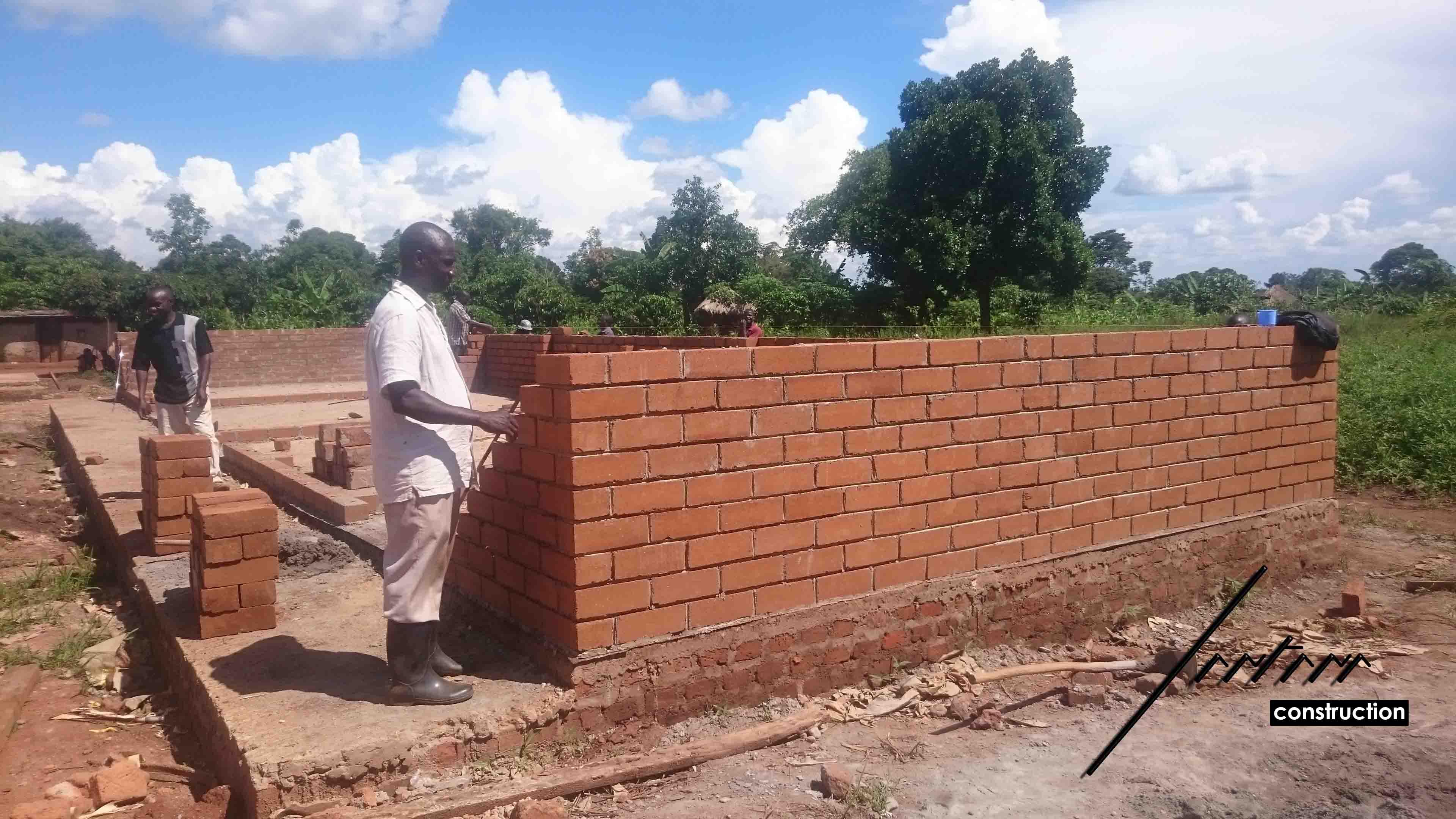 Arquitecto Voluntario Uganda ONG